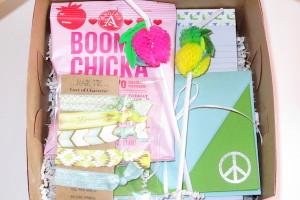 Box of Girl Character
