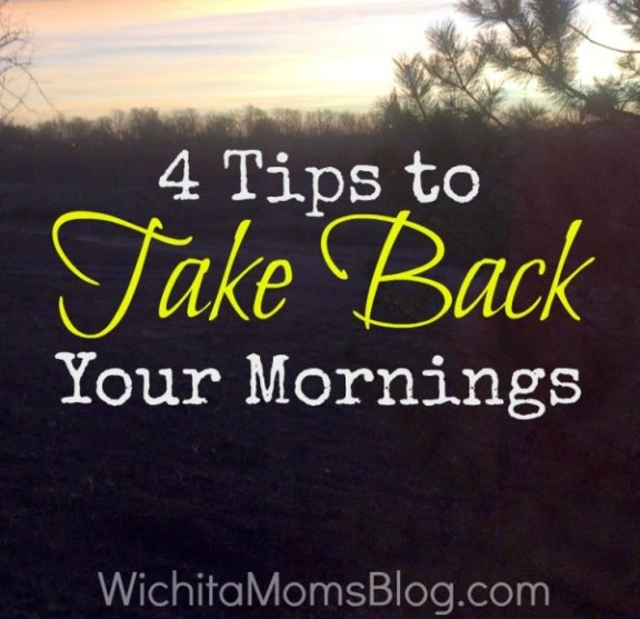 Avoiding Chaos: 4 Tips to Take Back Your Mornings