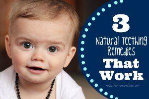 natural teething remedies