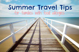 summer travel food allergies