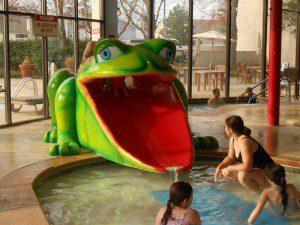 Hotel Frog slide