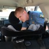 Trooper car seat check