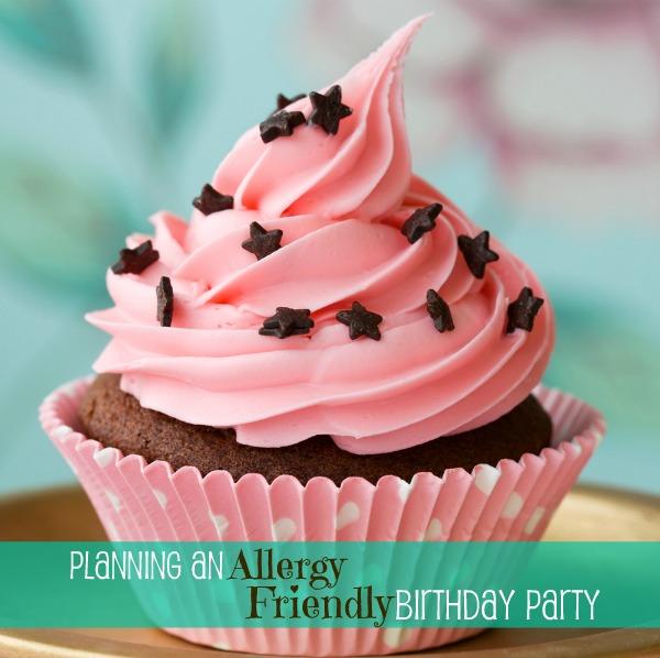 Allergy Birthday Party