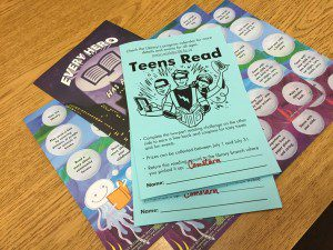 Wichita Public Library's reading logs and activity sheets for different age groups! Our family needed all 3.