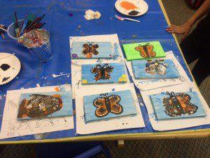 butterflies & a fish