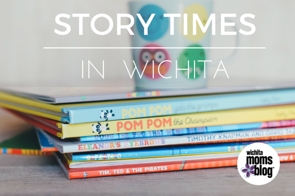 A complete schedule of story times in Wichita.