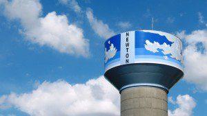 Newton Water Tower