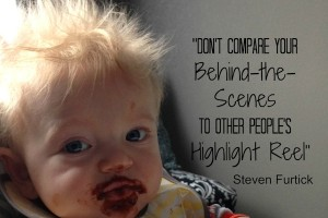 dont compare behind the scenes