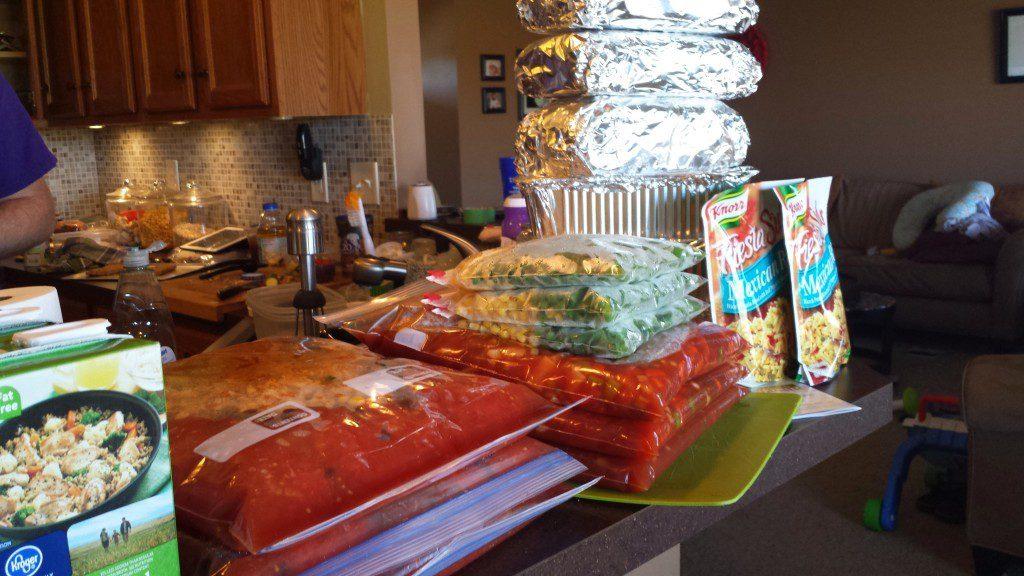 Maternity Leave - Meal Prep