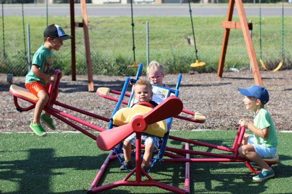 Backyard Playdate