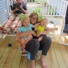 Vacation Rental: Jammie time on the deck!