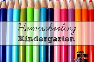 Homeschooling Kindergarten   Wichita Moms Blog