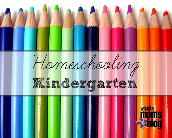 Homechooling kindergarten
