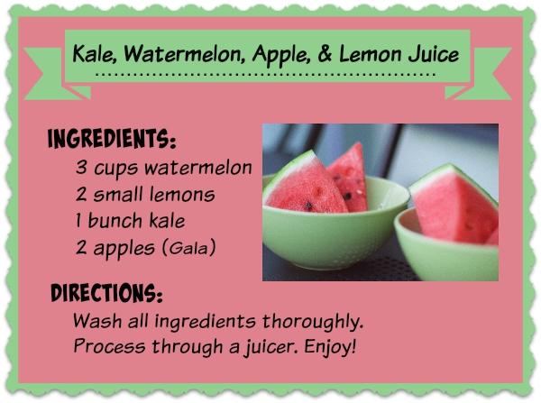KaleWatermelonAppleLemon