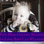 Five Mom-Centric Reasons to Love Baby Led Weaning