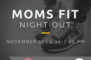 moms fit night out social media