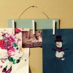 DIY Artwork Display {Kids Can Help!}