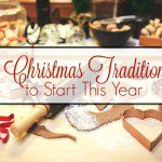 Five Christmas Traditions to Start This Year