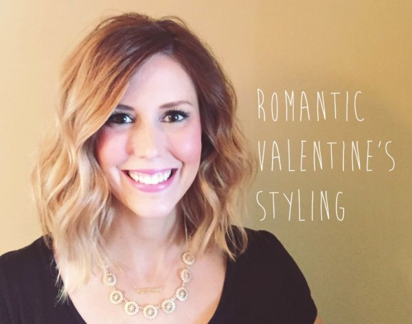 valentine's day hair and makeup