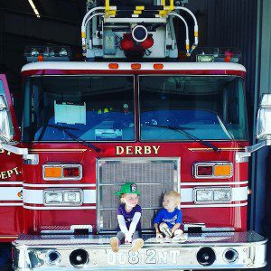 it takes a village fire truck