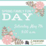 2016 Spring Family Fun Day