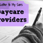 A Letter To My Son's Daycare Providers