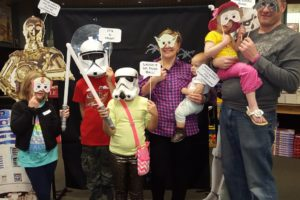 star wars white white family