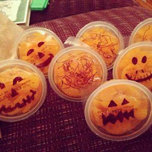 Orange Jack-O-Lanterns