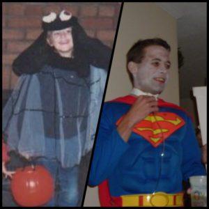 Megan Bayer Halloween childhood