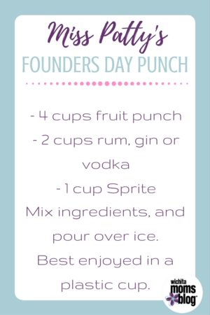Miss Patty's Founder's Day Punch Recipe