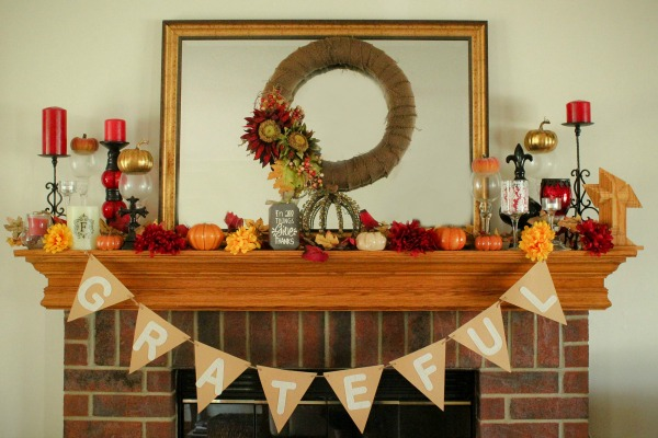 tips for fall decorating on a dime - Christmas Decorating On A Dime