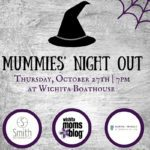 2016 Mummies' Night Out Event Invitation