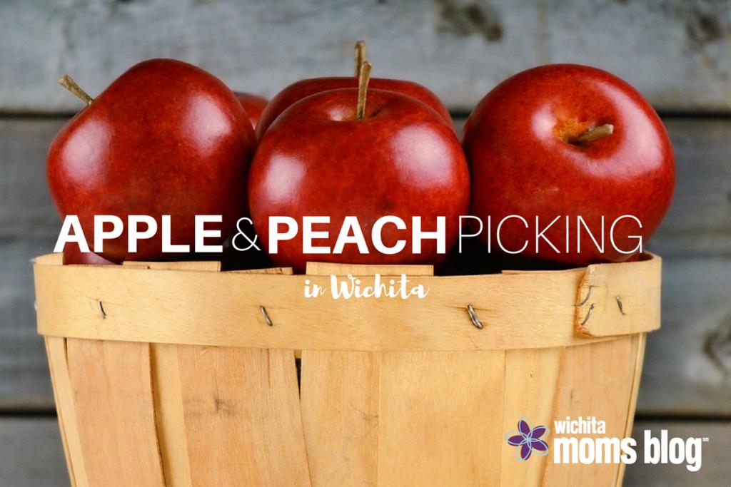 apple peach picking in wichita