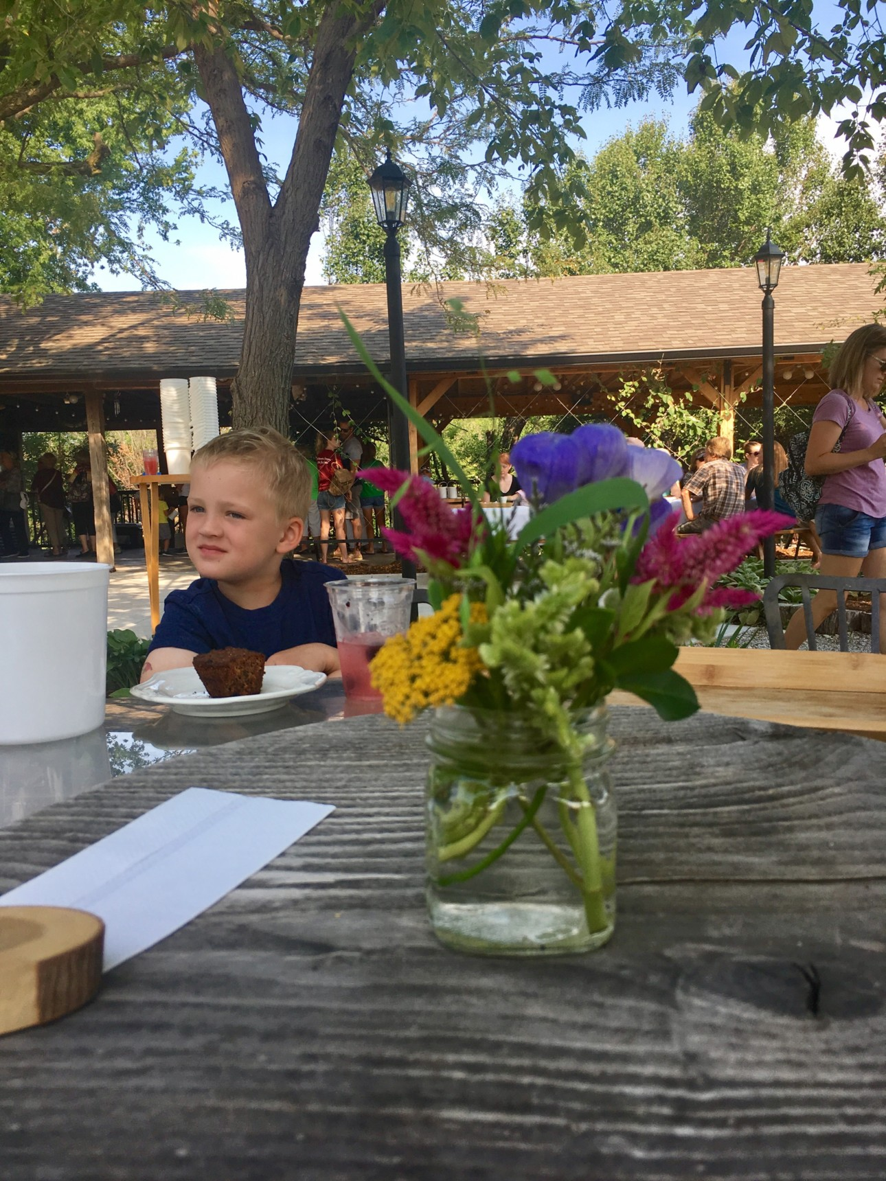 Bramble Cafe at Elderslie Farm