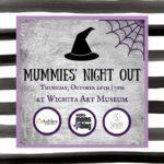 Mummies' Night Out: Fall 2017 Event Invitation
