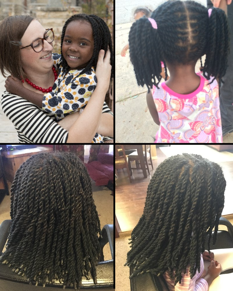 Curly Hair Diverse Care Yarn Extensions