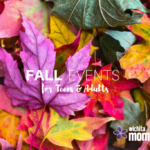 Fall Events for Teens and Adults