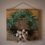 Easy DIY Christmas Handprint Wreath