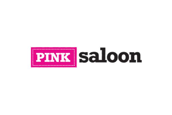 Holiday Shopping Pink Saloon logo