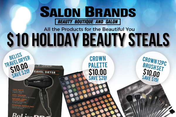 holiday shopping salon brands