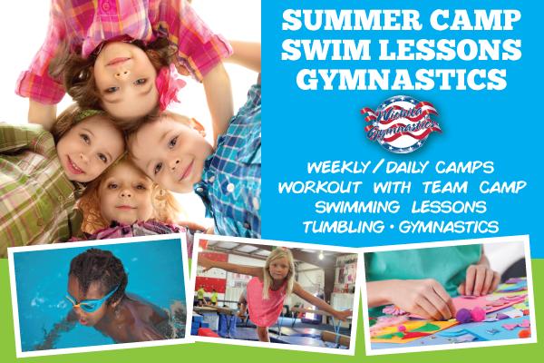 Wichita Gymnastics Summer Camp 2018