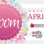 2018 BLOOM Event for New & Expecting Moms Invitation