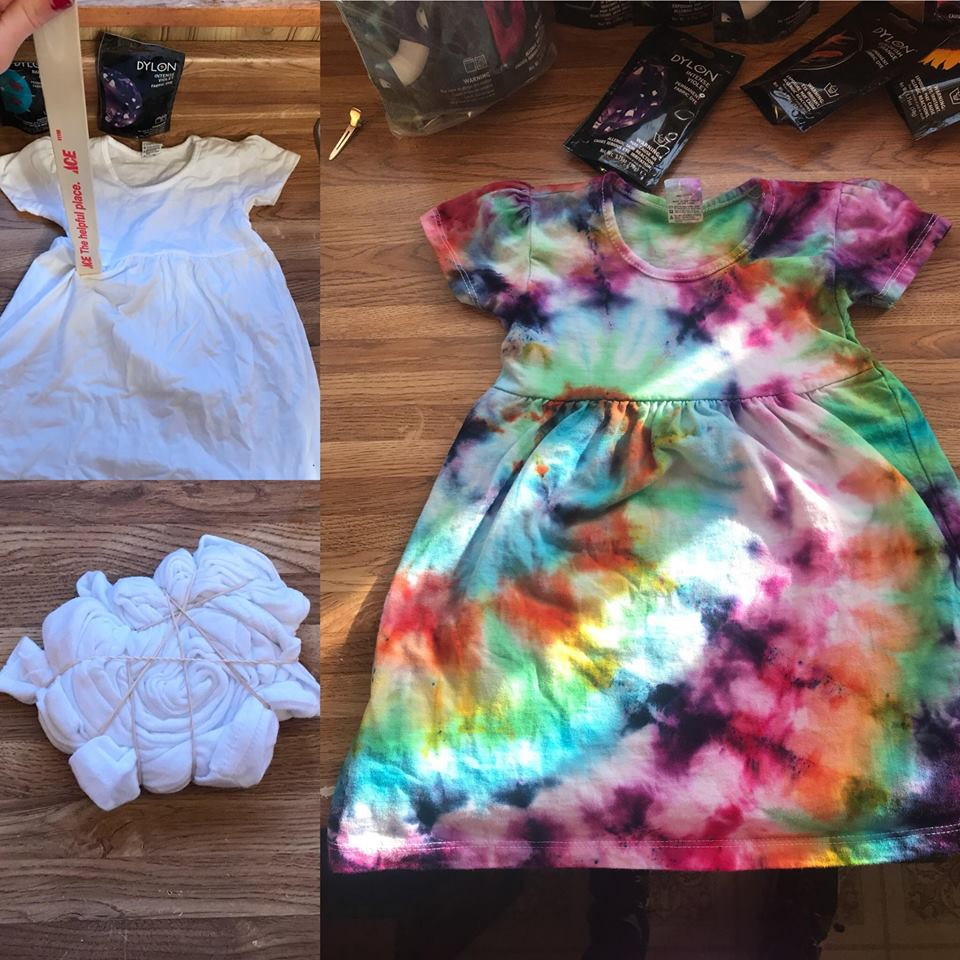 Tie Dye DIY | Wichita Moms Blog | Fun and EASY tie dye project your kids will love!