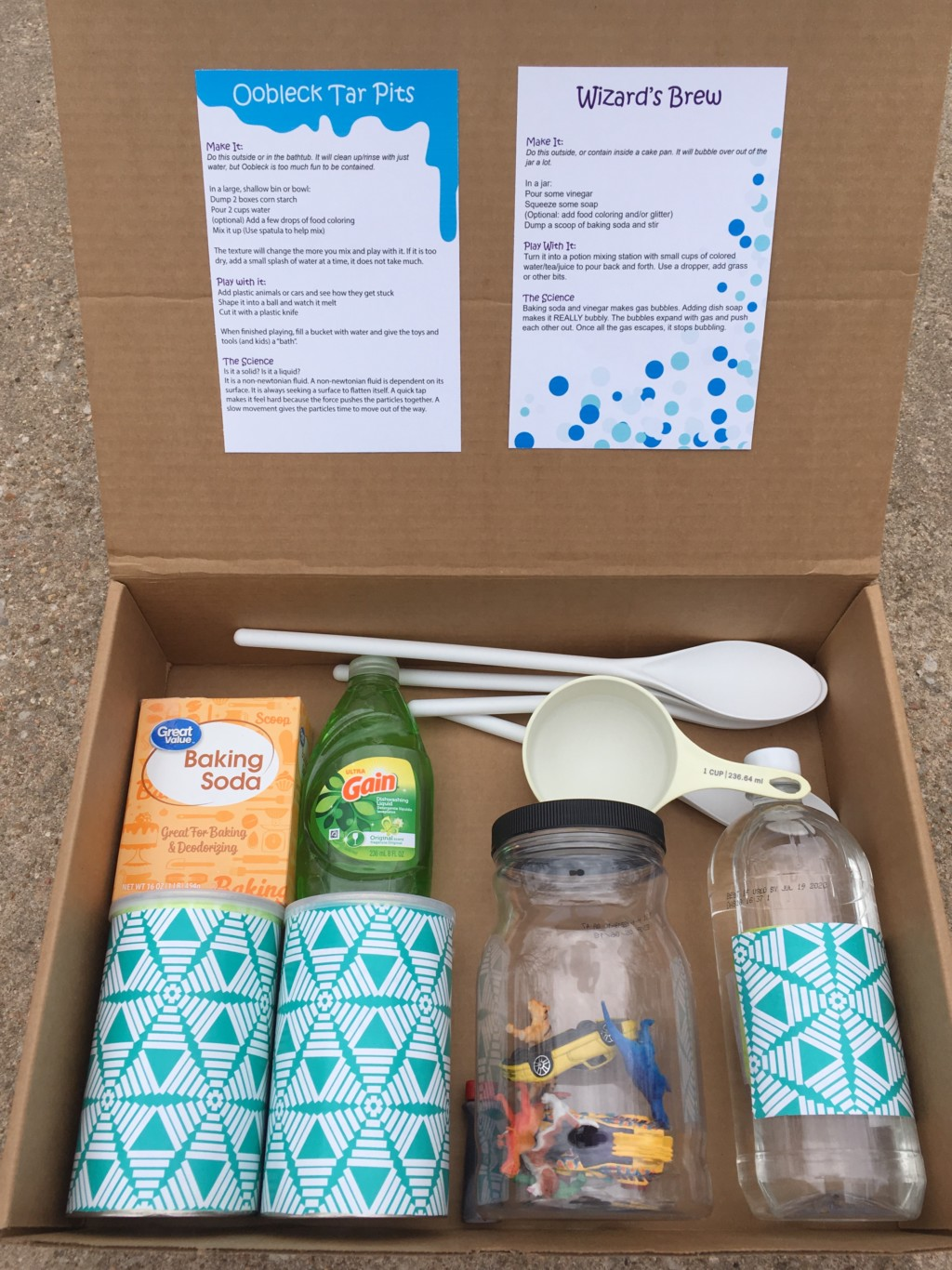 A Different Gift Experience DIY Science Experiment Kit