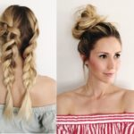 Four Simple, Weather-Proof Hairstyles