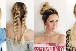 Four Simple Weather-Proof Hairstyles
