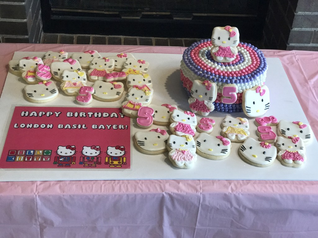 Birthday Themed Cake And Cookie Ideas