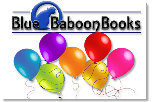 Blue Baboon Birthday 2018