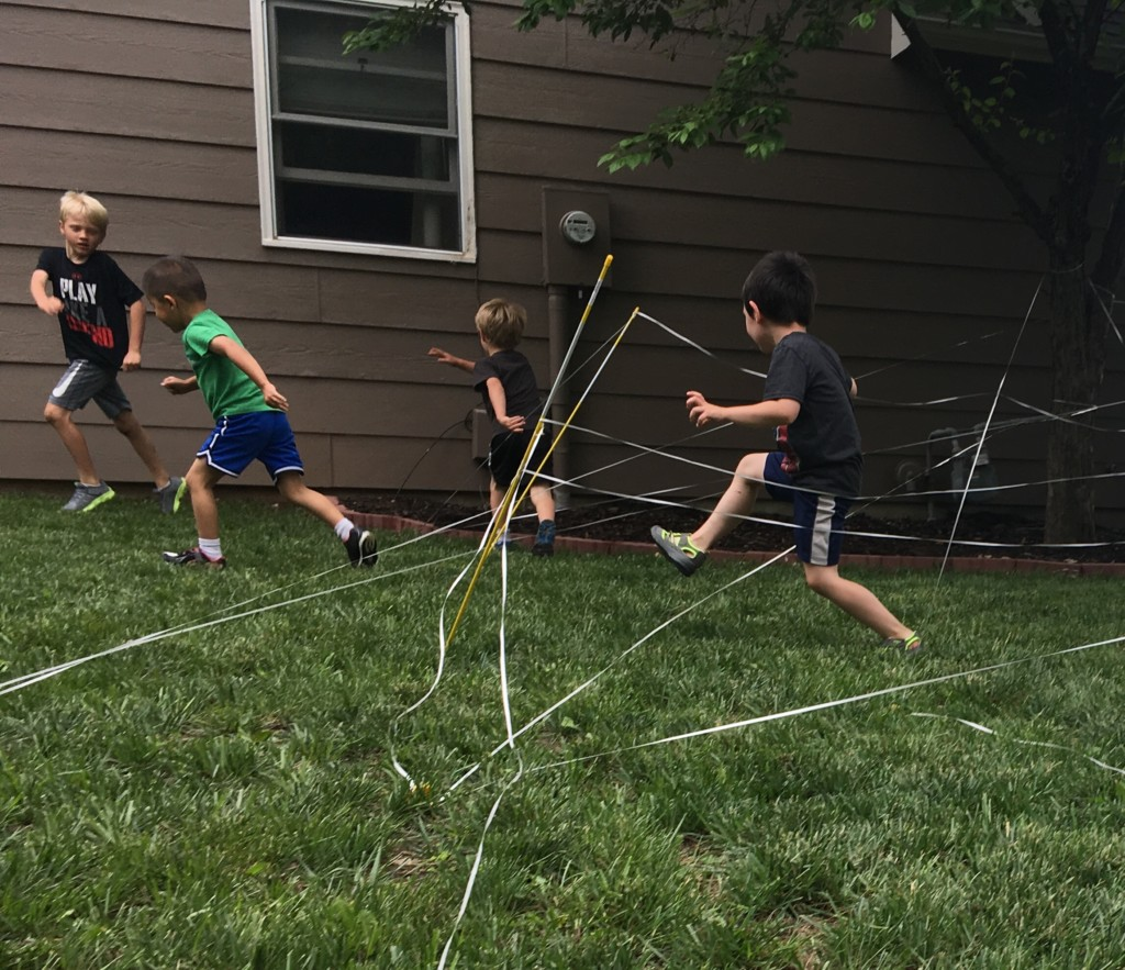 Backyard Fun: DIY Laser Maze And Obstacle Course