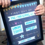 FREE First Day of School Printable!